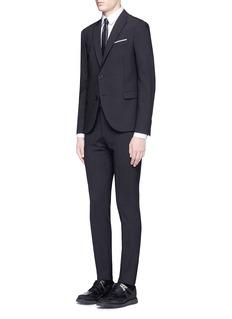 Neil BarrettSkinny fit pinstripe suit