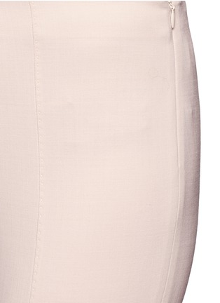 Detail View - Click To Enlarge - The Row - 'Cosso' topstitch virgin wool pants