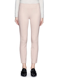 The Row 'Cosso' topstitch virgin wool pants