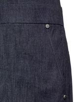 'Gigi' tailored cotton denim romper