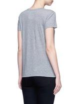 'Rockstud Untitled 09' mélange jersey T-shirt