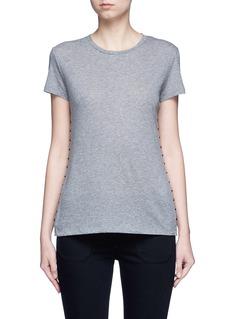 VALENTINO'Rockstud Untitled' mélange jersey T-shirt