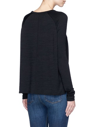 Back View - Click To Enlarge - rag & bone/JEAN - 'Camden' raglan sleeve T-shirt