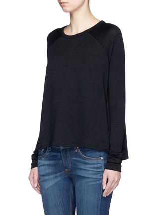 Front View - Click To Enlarge - rag & bone/JEAN - 'Camden' raglan sleeve T-shirt