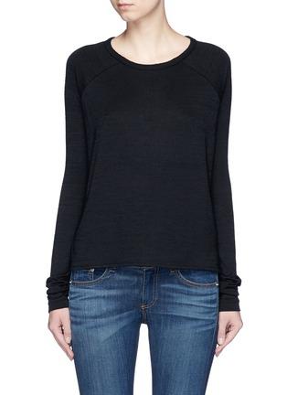 Main View - Click To Enlarge - rag & bone/JEAN - 'Camden' raglan sleeve T-shirt