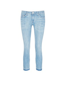 Current/Elliott 'The Cropped Straight' frayed hem jeans