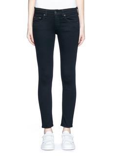 rag & bone/JEAN'Capri' stretch twill pants