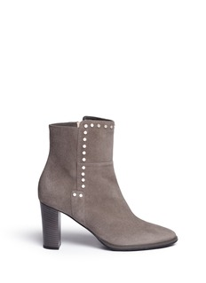 Jimmy Choo 'Harlow 80' stud trim suede boots