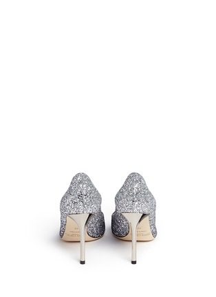 Back View - Click To Enlarge - Jimmy Choo - 'Romy' dégradé coarse glitter pumps