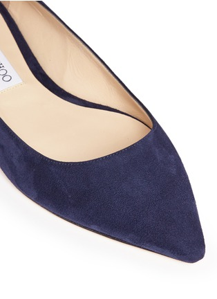Detail View - Click To Enlarge - Jimmy Choo - 'Romy' suede flats