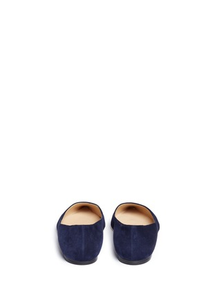 Back View - Click To Enlarge - Jimmy Choo - 'Romy' suede flats