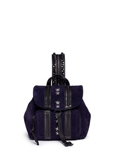 Jimmy Choo 'Suki' military star suede backpack