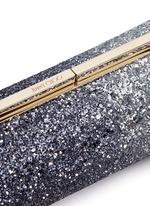 'Trinket' dégradé coarse glitter cylinder clutch
