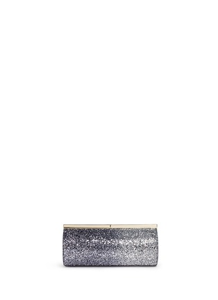 Main View - Click To Enlarge - Jimmy Choo - 'Trinket' dégradé coarse glitter cylinder clutch