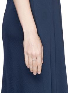 REPOSSI 'Antifer' diamond pavé 18k white gold heart ring