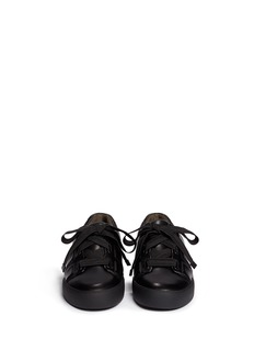 3.1 PHILLIP LIM'Morgan' oversize shoelace leather sneakers