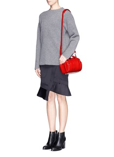 ALEXANDER WANG  'Mini Rockie' pebbled leather duffle bag
