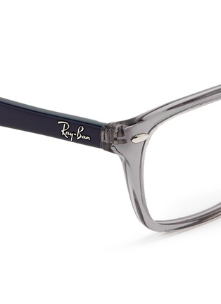 Detail View - Click To Enlarge - Ray-Ban - 'RB5228' colourblock acetate optical glasses