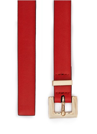 Detail View - Click To Enlarge - Valentino - 'Rockstud' leather belt