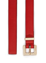 'Rockstud' leather belt