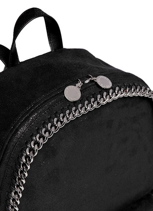 Detail View - Click To Enlarge - Stella McCartney - 'Falabella' shaggy deer chain backpack