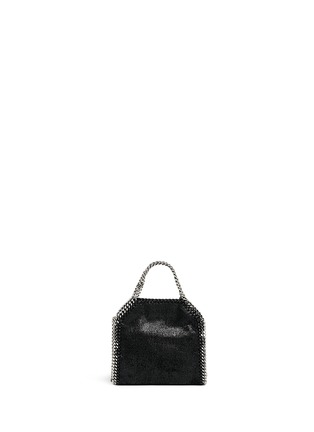 Back View - Click To Enlarge - Stella McCartney - 'Falabella' tiny shaggy deer crossbody chain tote