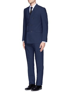 Armani Collezioni Virgin wool double breasted suit