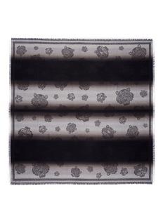 KENZOTiger dégradé modal-cotton scarf