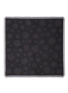 KENZOTiger jacquard modal-cotton scarf