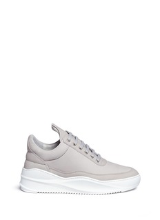 Filling Pieces 'Low Top' nubuck leather sneakers
