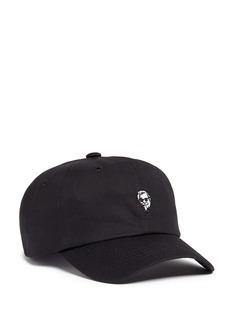 Pound'Vacay' character embroidered baseball cap