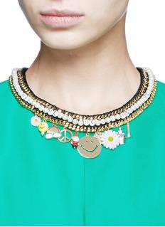 Venessa Arizaga'Glowing Garden' necklace