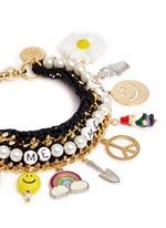 'Glowing Garden' bracelet