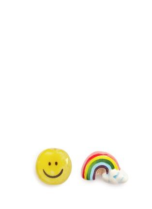Main View - Click To Enlarge - Venessa Arizaga - 'Rainbow Smile' earrings