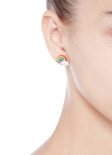 Venessa Arizaga'Rainbow Smile' earrings