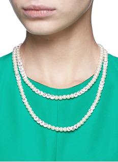 Venessa Arizaga'Say It Like You Mean It' necklace