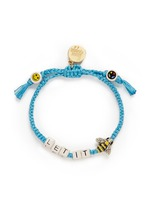 'Let It Bee' bracelet