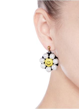 Figure View - Click To Enlarge - Venessa Arizaga - 'Sunshine Daisy' drop earrings