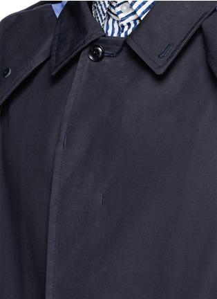 Detail View - Click To Enlarge - nanamica - GORE-TEX® soutien collar coat