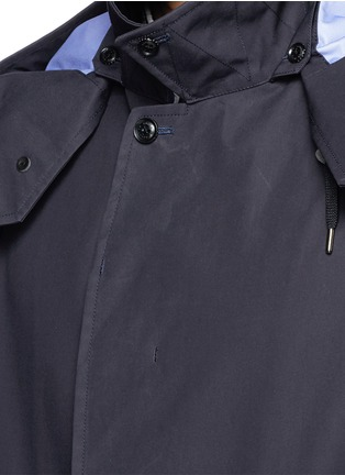 Detail View - Click To Enlarge - Nanamica - GORE-TEX® soutien collar coat