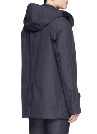 Back View - Click To Enlarge - Nanamica - GORE-TEX® soutien collar coat