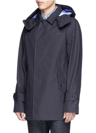 Front View - Click To Enlarge - Nanamica - GORE-TEX® soutien collar coat