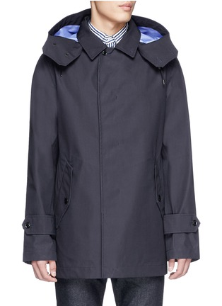 Main View - Click To Enlarge - Nanamica - GORE-TEX® soutien collar coat
