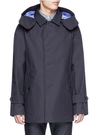 Main View - Click To Enlarge - nanamica - GORE-TEX® soutien collar coat