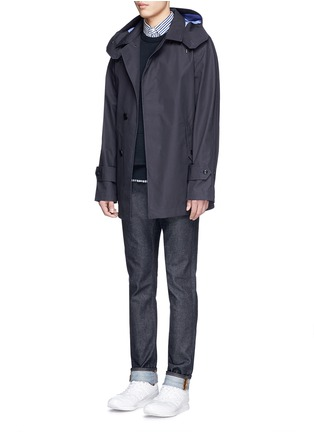 Figure View - Click To Enlarge - Nanamica - GORE-TEX® soutien collar coat