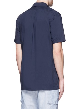Back View - Click To Enlarge - Nanamica - Spread collar short sleeve wind shirt