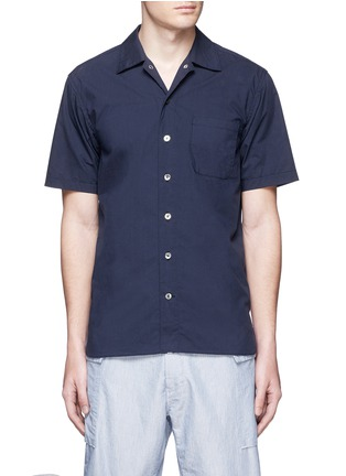 Main View - Click To Enlarge - Nanamica - Spread collar short sleeve wind shirt