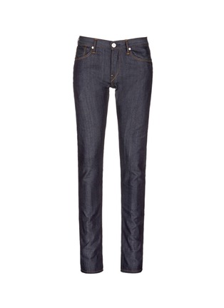 Main View - Click To Enlarge - 3x1 - 'M5' raw denim slim fit jeans