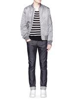 'M5' raw denim slim fit jeans