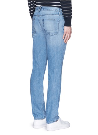 Back View - Click To Enlarge - 3x1 - 'M4' low rise straight leg jeans